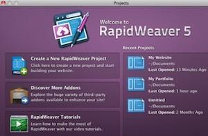 RapidWeaver giving users trouble, fix has been submitted