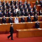 China propaganda kicks into overdrive as 'helmsman' Xi re-anointed president