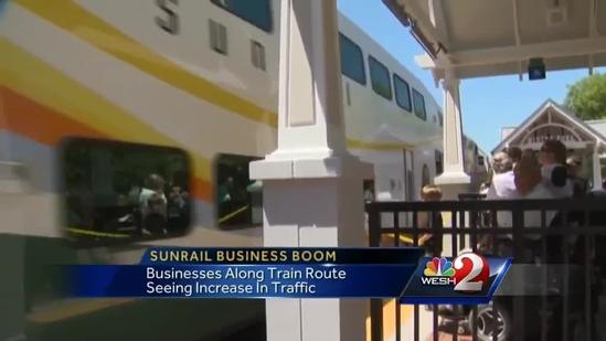 New businesses popping up near SunRail stations