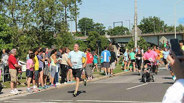 Father's Day tradition: Gary Papa Run 2014