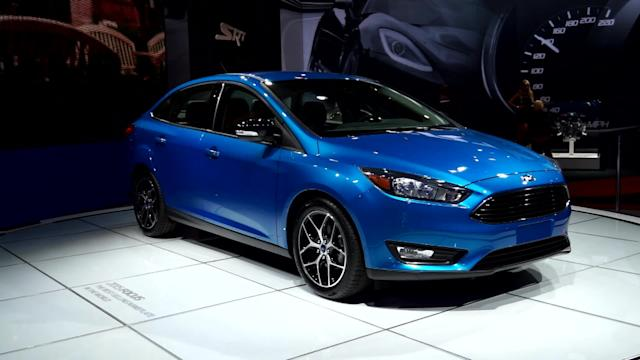 Ford Motor Company's Next CEO Shows Off the 2015 Focus