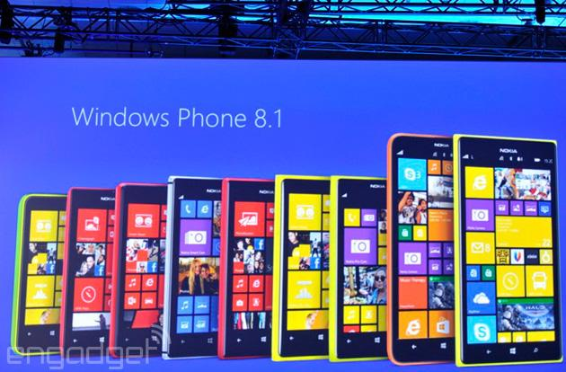 Microsoft to update all WP8 Nokia Lumia devices with Windows Phone 8.1