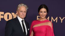 Michael Douglas, 75, says 'younger bride' Catherine Zeta-Jones makes him 'feel good'