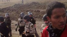 Police arrest 141 in crackdown on North Dakota pipeline protesters