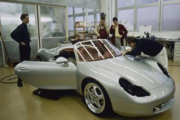 Porsche Boxster跑車概念:引領潮流的設計和巧妙的詳細解決方案