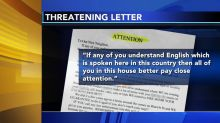 Woman left shaken after finding hate-filled letter in mailbox outside her new home