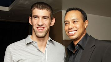 Michael Phelps recounts viral Masters moment watching Tiger Woods
