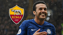 Roma confirm Pedro signing on free transfer from Chelsea