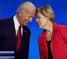 Joe Biden digs at Elizabeth Warren after debate: Polls don't show 'anybody else as a frontrunner'