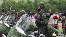 憲兵重機套綠迷彩 綠委:戰場上更容易被發現
