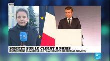 Sommet sur le climat à Paris : Macron accueille une cinquantaine de dirigeants