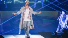 Justin Bieber booed as he storms off stage in Manchester