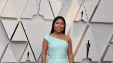 Como quinceañera Yalitza Aparicio en los Oscar