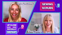 """Denise van Outen on the PPE shortage: """"Even in hospitals, some of the nurses are having to wear their pajamas"""""""