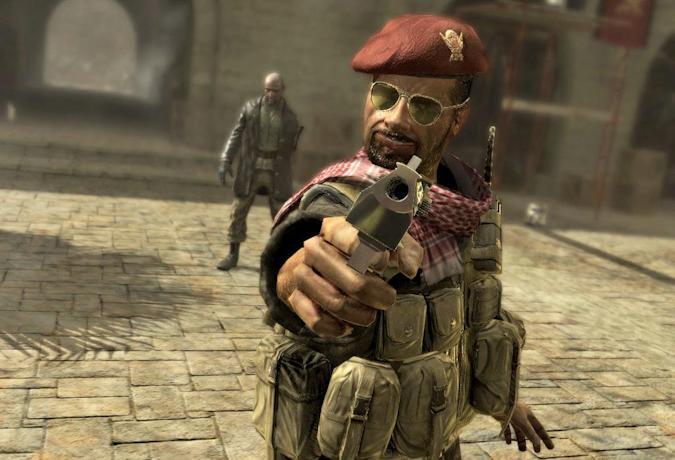 Khaled Al-Asad from Call of Duty 4: Modern Warfare