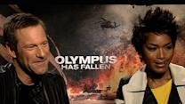 Aaron Eckhart And Angela Bassett Discuss 'Olympus Has Fallen'