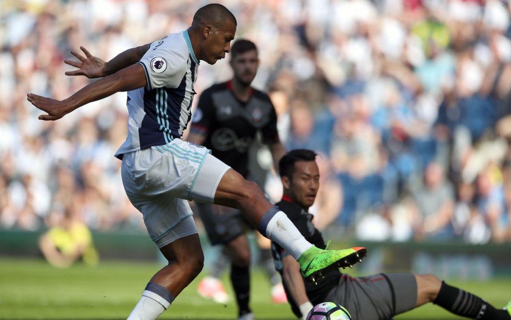 Salomon Rondon has now gone 16 Premier League matches without scoring - PA