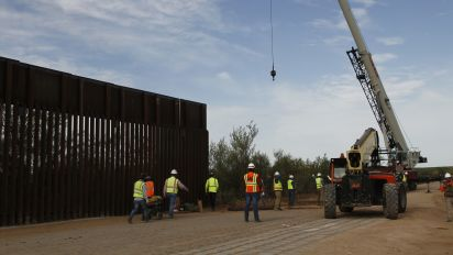 Work on border wall starts in Arizona and New Mexico