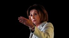 House Speaker Pelosi holds talks in Jordan with King Abdullah