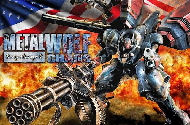 'Metal Wolf Chaos' is Michael Bay's brain in video game form