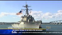 USS Benfold returns to San Diego after deployment