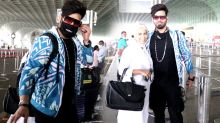 Paras Chhabra Spotted at Airport