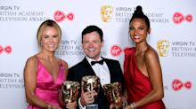 Declan Donnelly remains silent as Britain's Got Talent wins BAFTA in Ant McPartlin's absence
