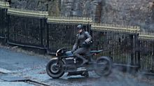 'The Batman' debuts vintage-style Batcycle in new set pics