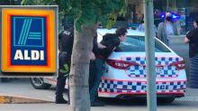 Teen allegedly shot with arrow inside Aldi supermarket