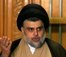 Iraqi cleric Sadr meets pro-Iran Amiri after election win