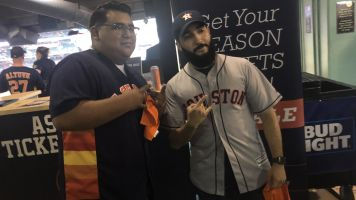 Heckled Astros fan gets free World Series tickets