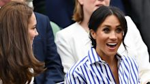See Every Photo of Meghan Markle and Kate Middleton Supporting Serena Williams at Wimbledon 2018