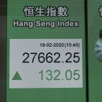 Global shares mostly rise but virus fears continue