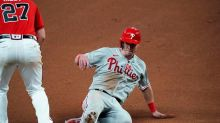 Phillies use long ball, strong bullpen outing to beat Braves