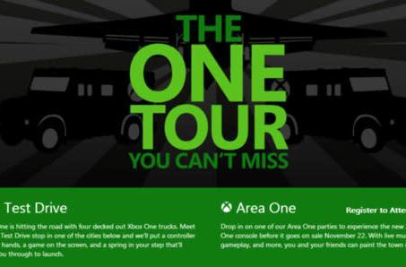 Microsoft sets dates for international Xbox One tour