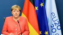 Merkel says no breakthrough in Brexit talk but remains 'optimistic'