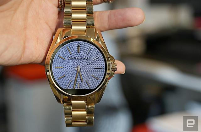 Michael Kors Access smartwatches' value is face deep