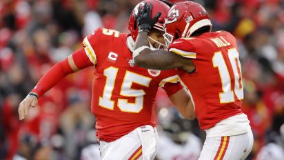 Hill reveals hilarious first impression of Mahomes