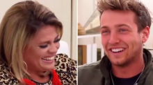 Celebs Go Dating's Sam Thompson hilariously farts during chat with dating gurus