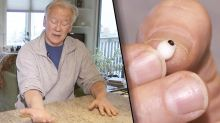 Lucky man finds pearl in oyster at restaurant