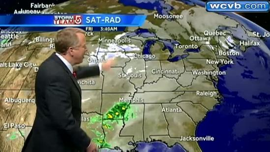 Mike's stormy weekend forecast