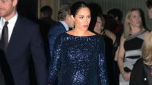 Meghan Markle dazzles in sparkly Roland Mouret gown and Princess Diana's bracelet at Royal Albert Hall