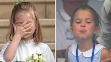 17 times Princess Charlotte stole the show