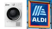 Aldi sparks frenzy with 'identical' $599 dupe of $900 dryer