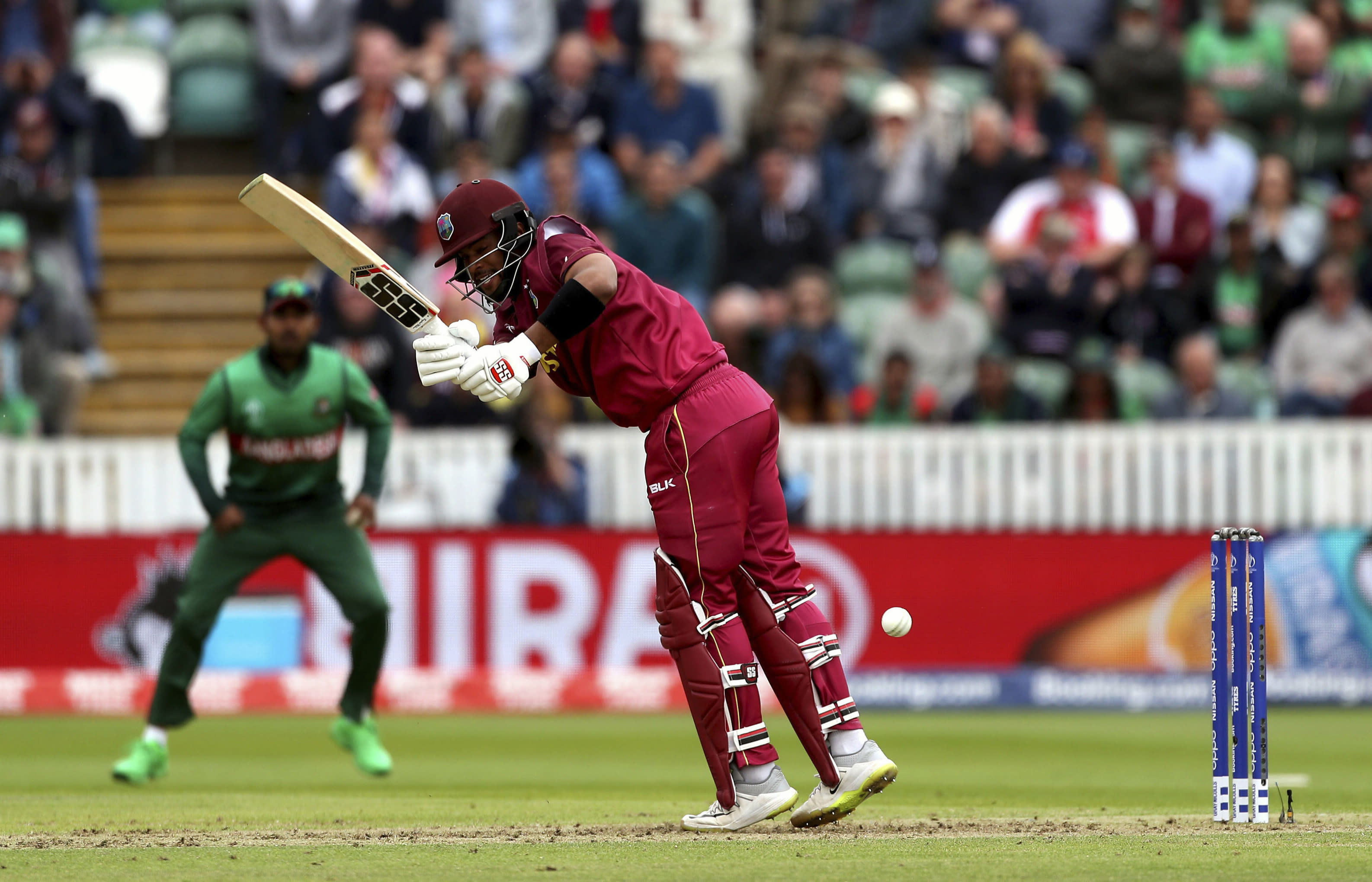 The Latest: Bangladesh chase down West Indies in big win