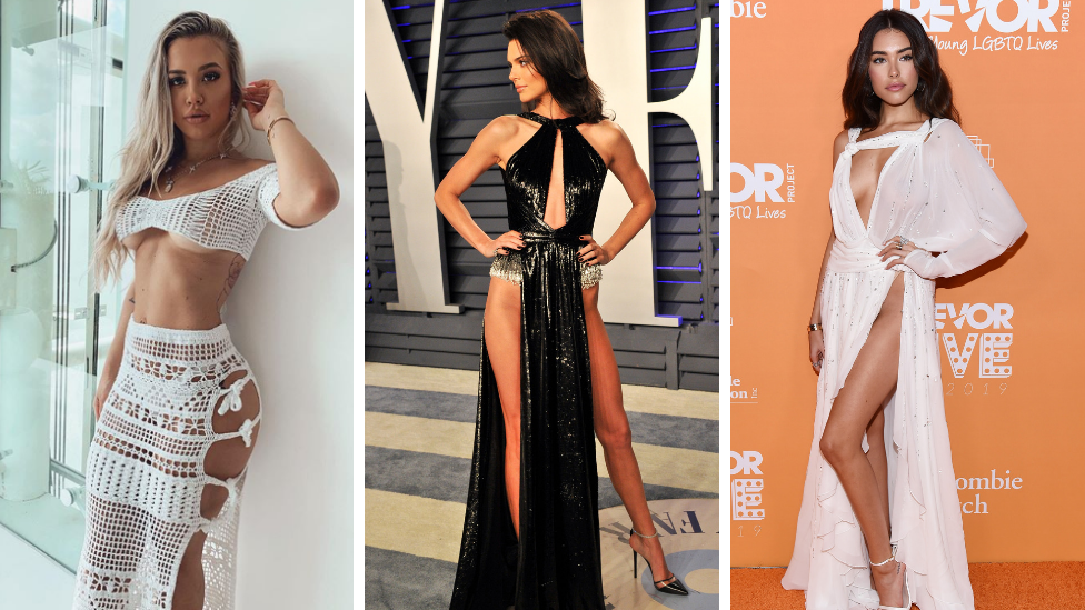 Sideflank is the racy new fashion trend replacing the sideboob