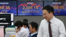 La Bolsa de Seúl cae un 0,34 % al cierre hasta los 2.282,29 puntos