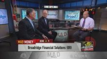 Broadridge Financial incoming and outgoing CEOs talk tran...