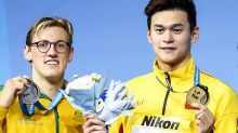 Mack Horton and Sun Yang 'separated' as ugly feud hits world titles