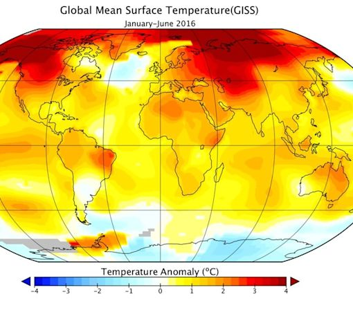 2016 is (predictably) set to be the hottest year on record